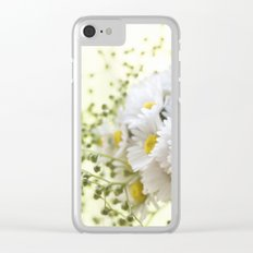 Bouquet of daisies in LOVE - Flower Flowers Daisy Clear iPhone Case