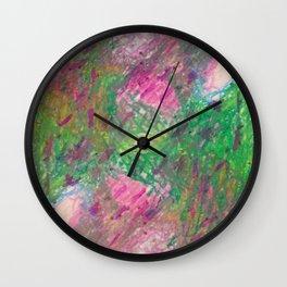 Secret Sweet Garden 4 Wall Clock