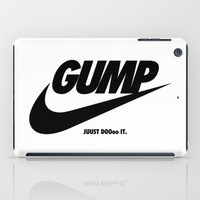 forrest gump iPad Cases featuring Gump Just Do It by IIIIHiveIIII