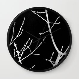 Graphic Twigs Wall Clock