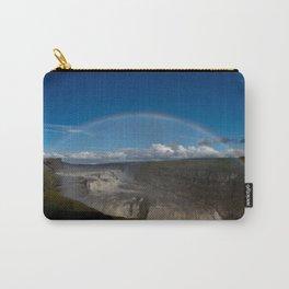 Iceland Rainbow Carry-All Pouch
