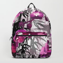 Bamboo Orchids Backpack