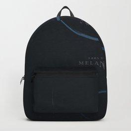 Melancholia, Lars Von Trier, minimalist movie poster Backpack