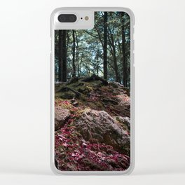 Entwined in Stone Clear iPhone Case