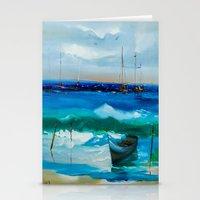 marina Stationery Cards featuring Marina by Willy Perez