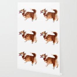watercolor dog vol 15 corgi Wallpaper