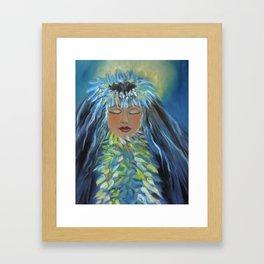 Wahine 11 Framed Art Print