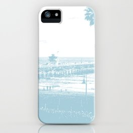 San Clemente Pier, Southern California iPhone Case