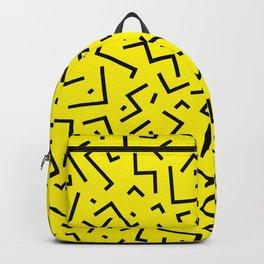 Memphis pattern 35 Backpack