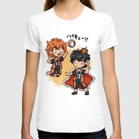 haikyuu T-shirts featuring haikyuu!!  by Minty Art