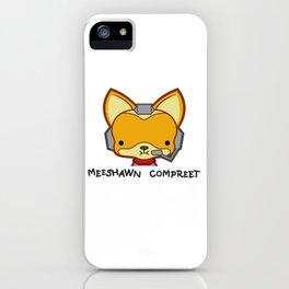 Fox Meeshawn Compreet iPhone Case