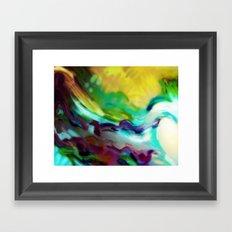 Static 17-C Framed Art Print