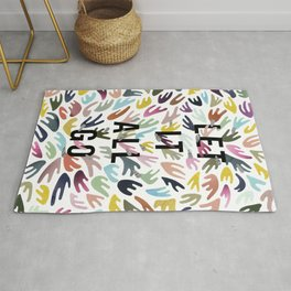 Let it all go Rug