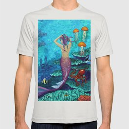 A Fish of a Different Color - Mermaid and seaturtle T-shirt