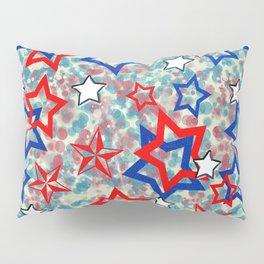 Stars and Splats Pillow Sham