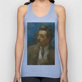 Giacomo Puccini (1858 – 1924) by Arturo Rietti in 1906 Unisex Tank Top