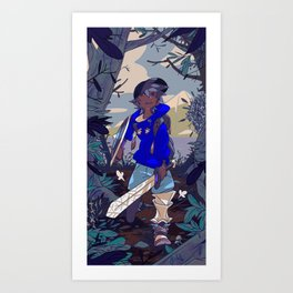 Forest Quest Art Print