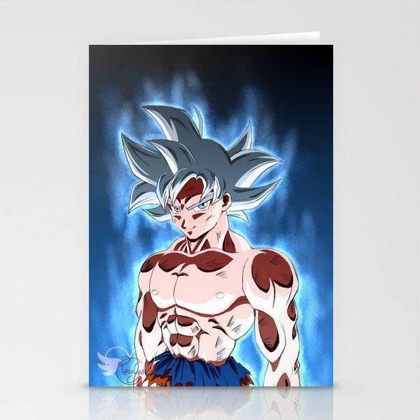 Ultra instinct Stationery Cards