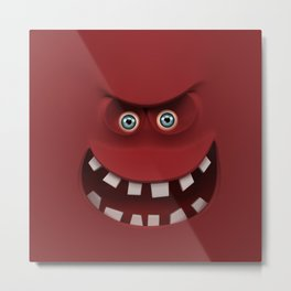 BOXAAT RED Metal Print