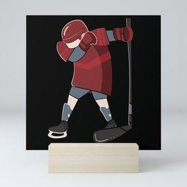 Ice Hockey Dab Apparel Dabbing Player Youth Gift Mini Art Print