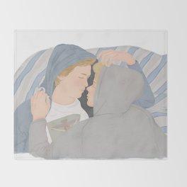 Isak & Even illustration | Skam, Evak Throw Blanket