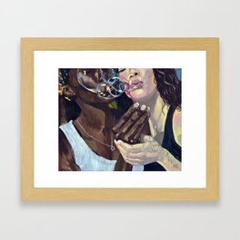 Sweetest Conflict Framed Art Print