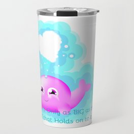 Cute Whale Travel Mug