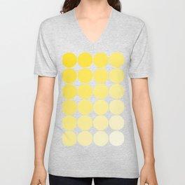 Yellow Circle Color Chart Unisex V-Neck