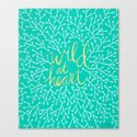 Wild at Heart – Turquoise by catcoq
