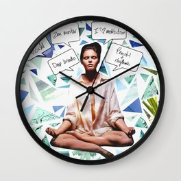 Zen Master Wall Clock
