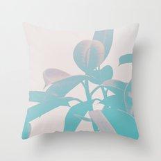 Pastel Botanic Throw Pillow