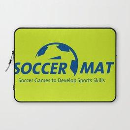SoccerMat Logo Laptop Sleeve