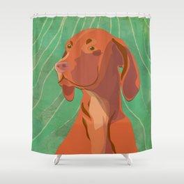 Hungarian Vizsla Shower Curtain