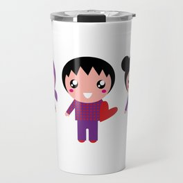 New valentine EMO characters Travel Mug