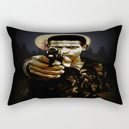 dance with the devil in the pale moonlight Rectangular Pillow