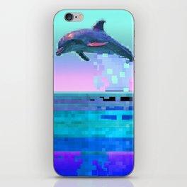 Dolphin Jitter iPhone Skin