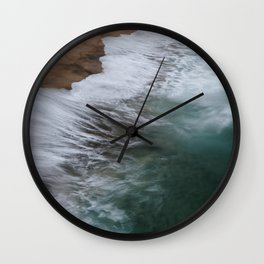 Coastal Wild Wall Clock