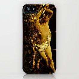Massacre of saint Sebastien iPhone Case
