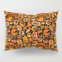 Pumpkin Brawl. Pillow Sham