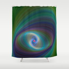 Elliptical Eye Shower Curtain