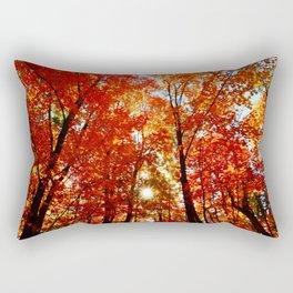 Sun in the Trees Rectangular Pillow