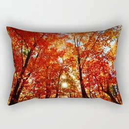 Sun in the Trees Rectangular Pillow