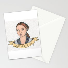 Catherine of Aragon Stationery Cards