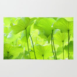 Lotus Leaves Rug