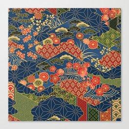 Japan Quilt Canvas Print