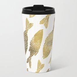 Indonesian Fish Duo – Gold Palette Travel Mug