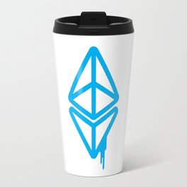 Ethereum - Blue Spray Travel Mug