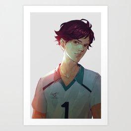 Bitchy Oikawa Art Print