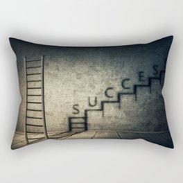 success stairway Rectangular Pillow