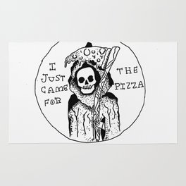Scythe Of Pizza Rug
